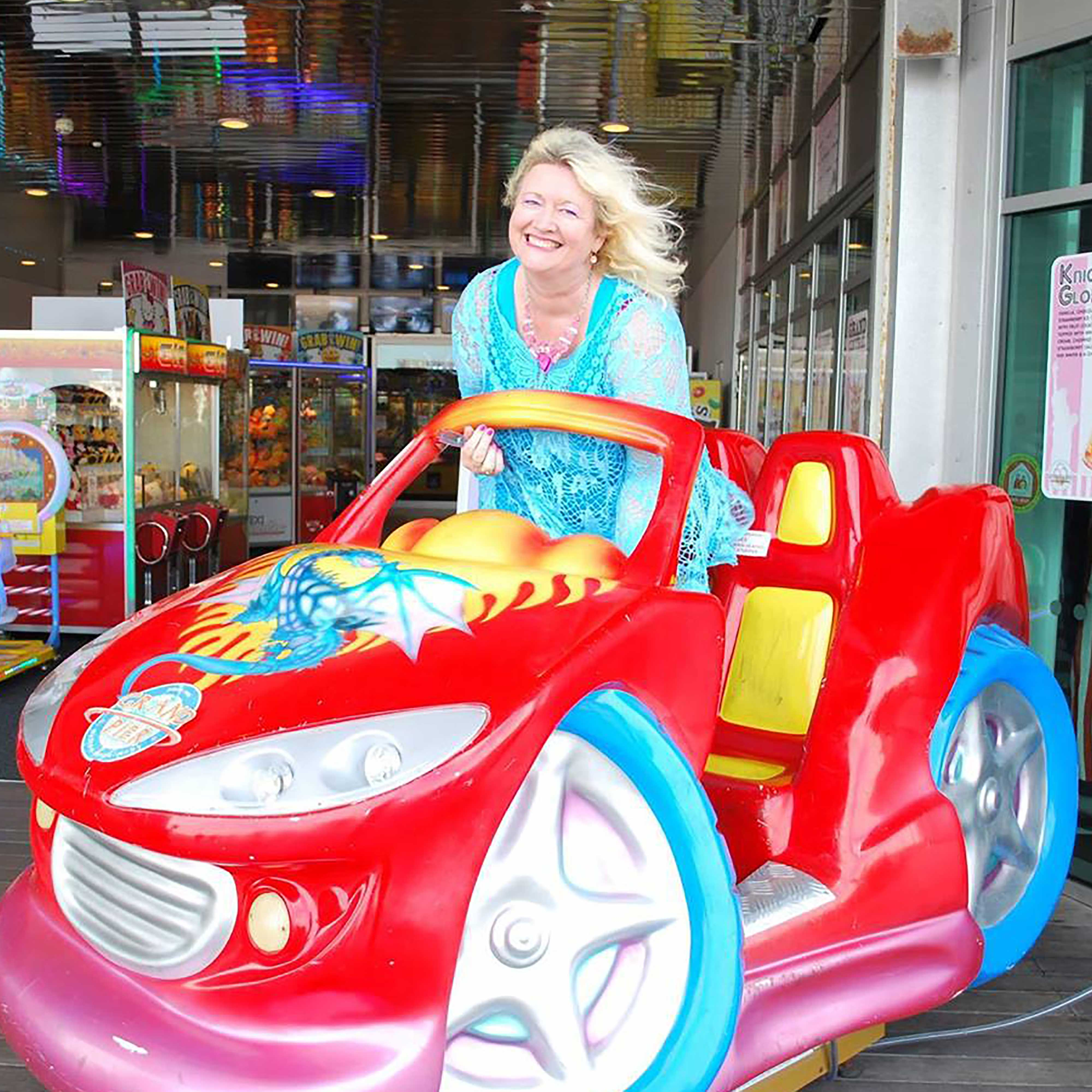 Kimberley Lovell Approved Picture Fun Car