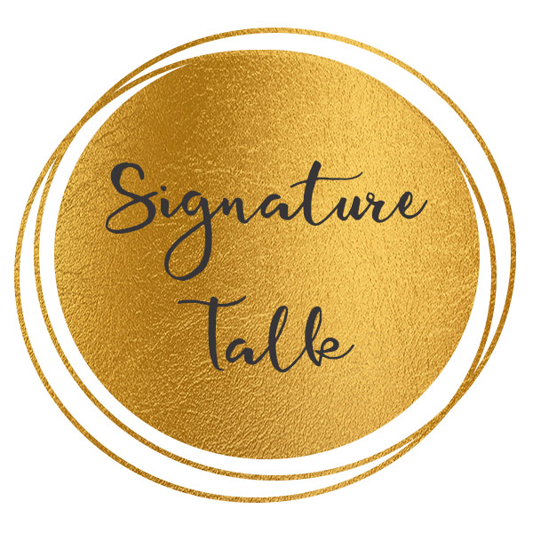 Signature Talk